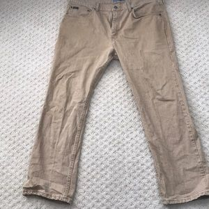 Lee brown jeans - size 40w 30l